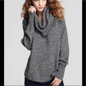 Joie Wesley Marble cashmere Cowl Neck Sweater  S